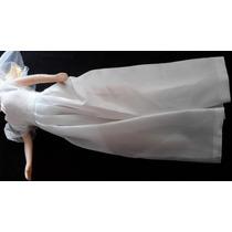 B.antigo Vestido Pra Boneca Tipo Barbye, Festa Noiva.cód 32