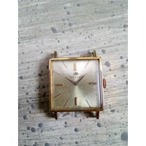 Relogio Movado Suíço Corda Ano 1937, Plaqué De Ouro 17 Rubis