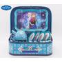 Juego De Te Metalico C/ Valija Frozen 15 Piezas Orig Disney