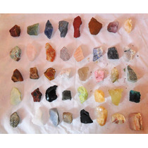 Frete Grátis Pedras Brutas Coleção 50 Peças Só 120,00