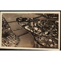 Cartão Postal Antigo Recife Pe Vista Aérea 6