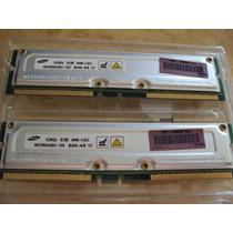 Memória Rambus 64mb Bus 800 Syncmax Memtest Ok E Garantia!.