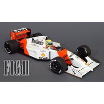 F1 Ayrton Senna Mrlboro Mclaren Mp4/7 Año 1992 Esc 1/18