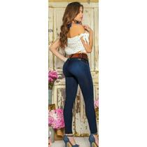 Jeans Corte Colombianos Levanta 3-5 Cm Las Pompas