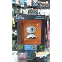Camara Web Cam Hd Con Microfono Noganet (ngw-6809)
