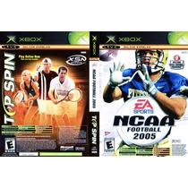 Top Spin/ Ncaa Football 2005 Xbox Seminuevo