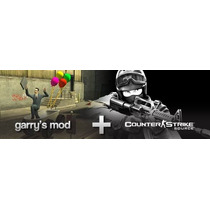 Garrys Mod + Counter Strike Source