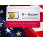Sim Card Prepago T-mobile Usa