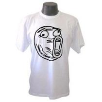 Camiseta Lol Memes Divertida Panico Engraçada Sátiras