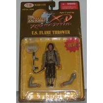 Ultimate Soldier Soldado Americano Lanza Llamas Escala 1/18