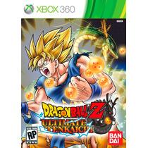 Dragon Ball Z Ultimate Tenkaichi Sellados Xbox 360