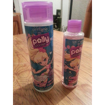 Set Polly Pocket By Oriflame Gel De Ducha Y Agua De Colonia