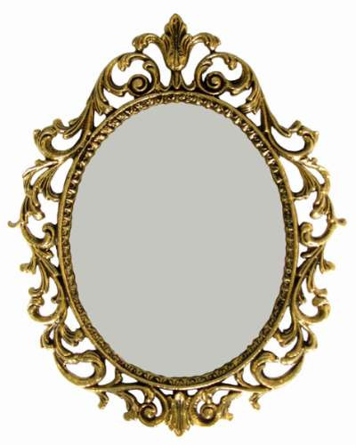 Moldura barroca para espelho grande ramos sem vidro for Molduras para espejos online