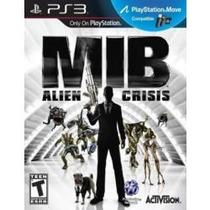 Jogo Mib Men In Black Alien Crisis Ps3 Compativel Com Move