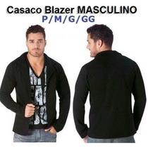 Casaco Jaqueta Blazer Blusa Masculino Blusa Sueter Moleton
