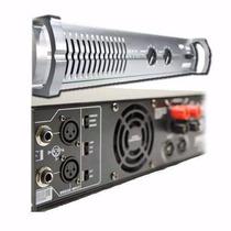 Apx-1200 Potencia Audio ¿640w + 640w En 4 Ohms ¿400w + 400w