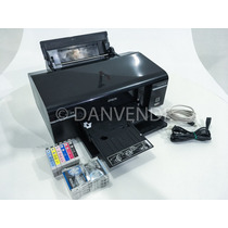 Impressora Stylus Epson T50 Imprime Cd + 6 Cartuchos Novos