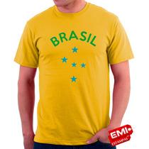 Camisetas Brasil Copa Do Mundo 2045