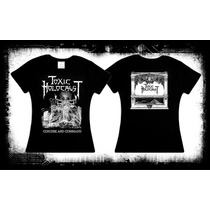 Toxic Holocaust Conjure And Command Camiseta Y Blusa