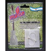 Filtro Bombilla De Mate Anti Yerba Blisters 4 X 2u. Malon
