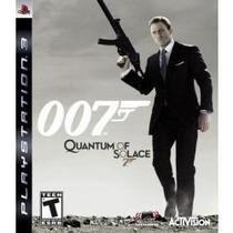 007 Quantum Of Solace Ps3 Lacrado, Envio Sedex A Cobrar