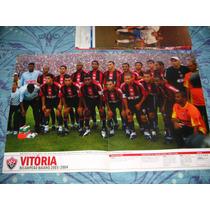 Poster Placar Vitória Campeão Baiano 2004