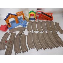 Amplia Tu Escenario Vias Trackmaster Tren Thomas D718