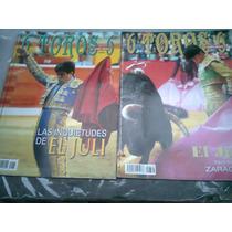 Revistas De Toros De El Juli 4 Rev Colección 6 Toros 6