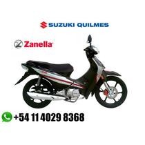 Zanella Zb 110 Full 0km 12cuotas $ 1150 Sin Interes Ahora 12