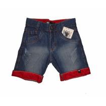Shorts Bermuda Jeans Infantil Tommy, Abercrombie , Lacost