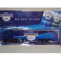 Miniatura Caminhão Truck Bad Liebenwerda Scania