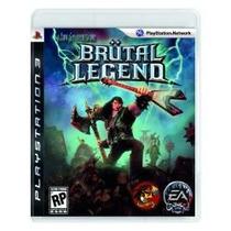 Brutal Legends Ps3 Americano Aceito Sedex A Cobrar