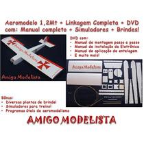 Kit Aeromodelo 1,2mt Ugly Stick Depron + Linkagem + Brindes!