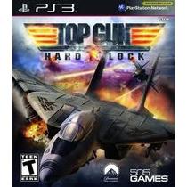 Jogo Top Gun Hard Lock Para Ps3 Playstation 3 Jogo Americano