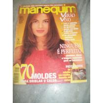 Isadora Ribeiro - Manequim Nº 422 De 02/95 - Sem Moldes