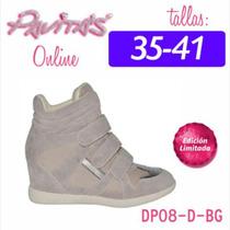 Botones Pavitas Original Talla 36 Dama Calzado Zapatos