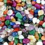 Pedras 2-4cm Semipreciosas Brasileiras Mistas Polidas - 1kg