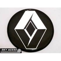 Emblema Resinado Da Renault De 48mm