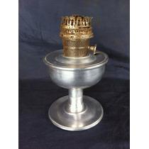 Lampião Lamparina Aladin Aluminio Antigo