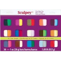 Sculpey Iii Arcilla Del Polímero Muestra De Color Multicolor