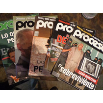 Lote De 5 Revistas Proceso Con Envio Gratis Politica Mexican