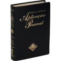 Bíblia De Estudo Aplicação Pessoal Grande Luxo 17x23,5