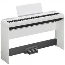 Piano Yamaha P115 Wh + L85 + Lp5a Na Cheiro De Musica !!