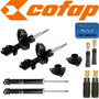 4 Amortecedores Hyundai I30 +kits+coxim Cofap Novo