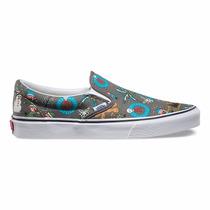 Zapatillas Vans Slip On Con Diseño Nuevas Y Originales!!!