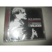 Alejandro Fernandez Dos Mundos Revolucion En Vivo Cd Nuevo