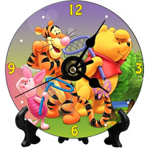 Reloj Cd Personalizado Souvenir Gratis Pila Y Atril
