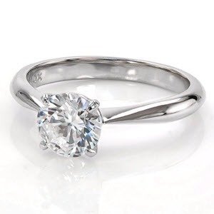 a8724c7f07f68 Solitário Com Diamantes Em Ouro Branco 18k!!!linda Jóia! - R  3.108 ...