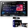 Dvd Player Pioneer Avh-x5880tv 2 Din + Interface De Volante