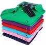 Kit 10 Camisetas Camisa Gola Polo Tecido Piquet Em Oferta